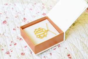 Monogram necklace – mijnnaamketting.nl